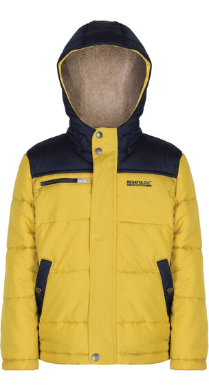 Regatta Zipper II Jacket Boys Antique Moss/Navy